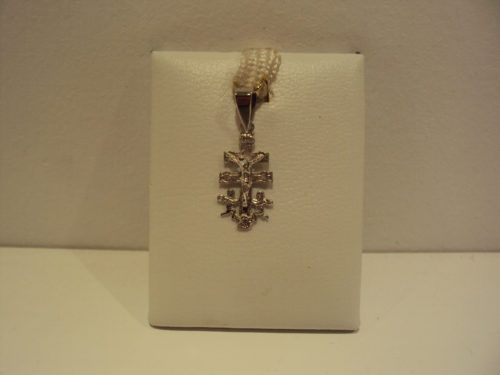 Cruz oro blanco caravaca 65e