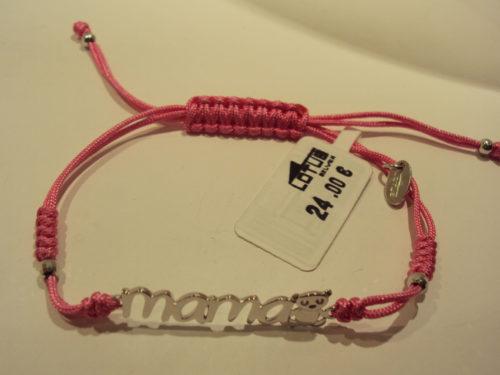 Pulsera mamá de Lotus rosa 24e