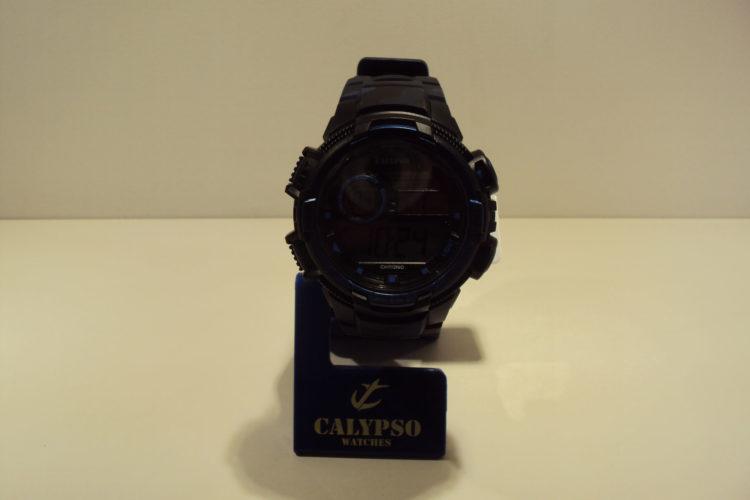 Reloj digital hombre,camuflaje tonos azules 39€