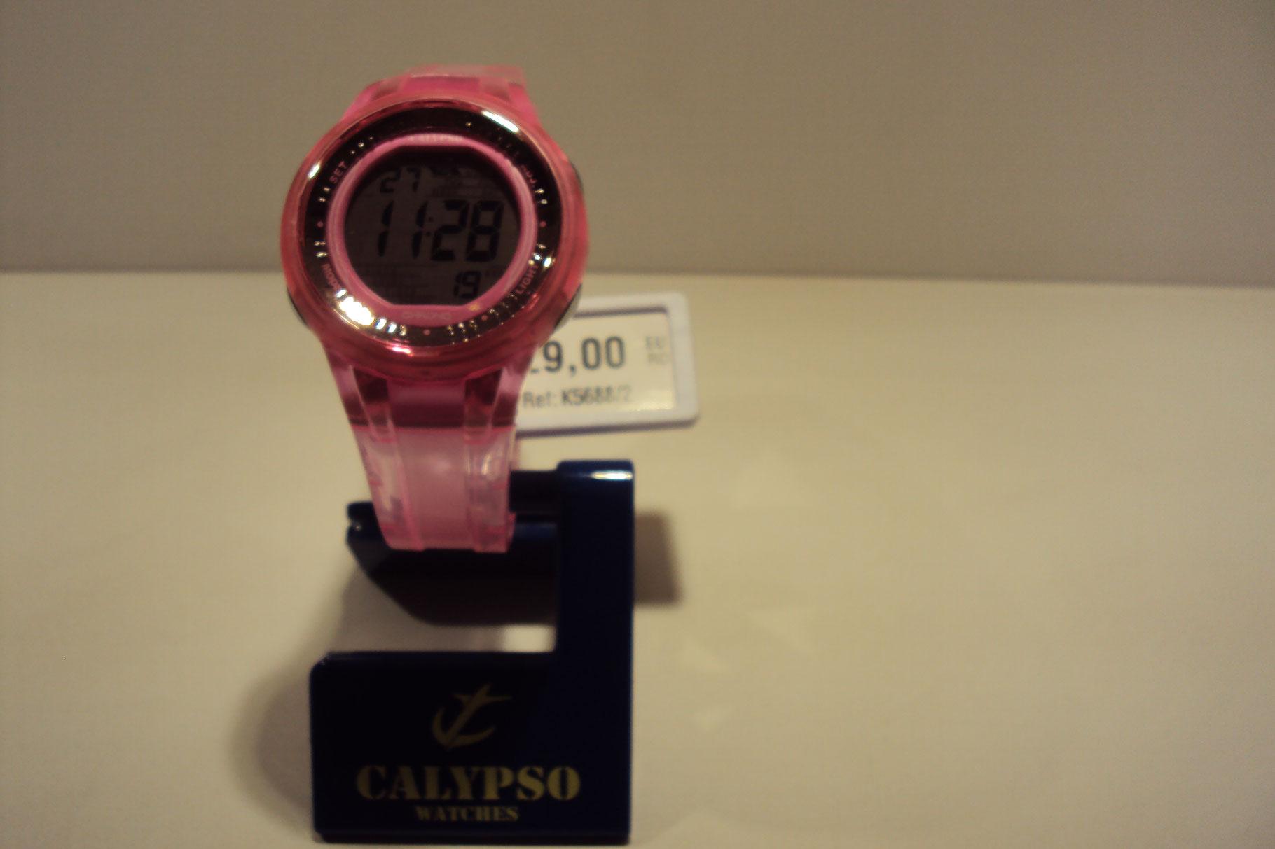 Reloj digital rosa 29€