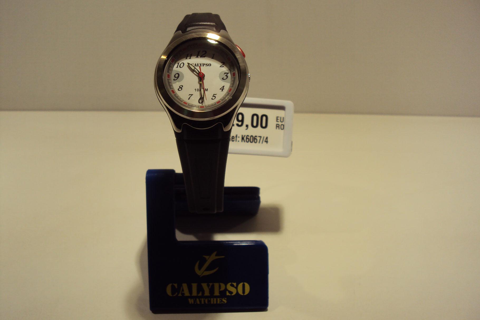 Reloj mujer correa negra con luz 29€