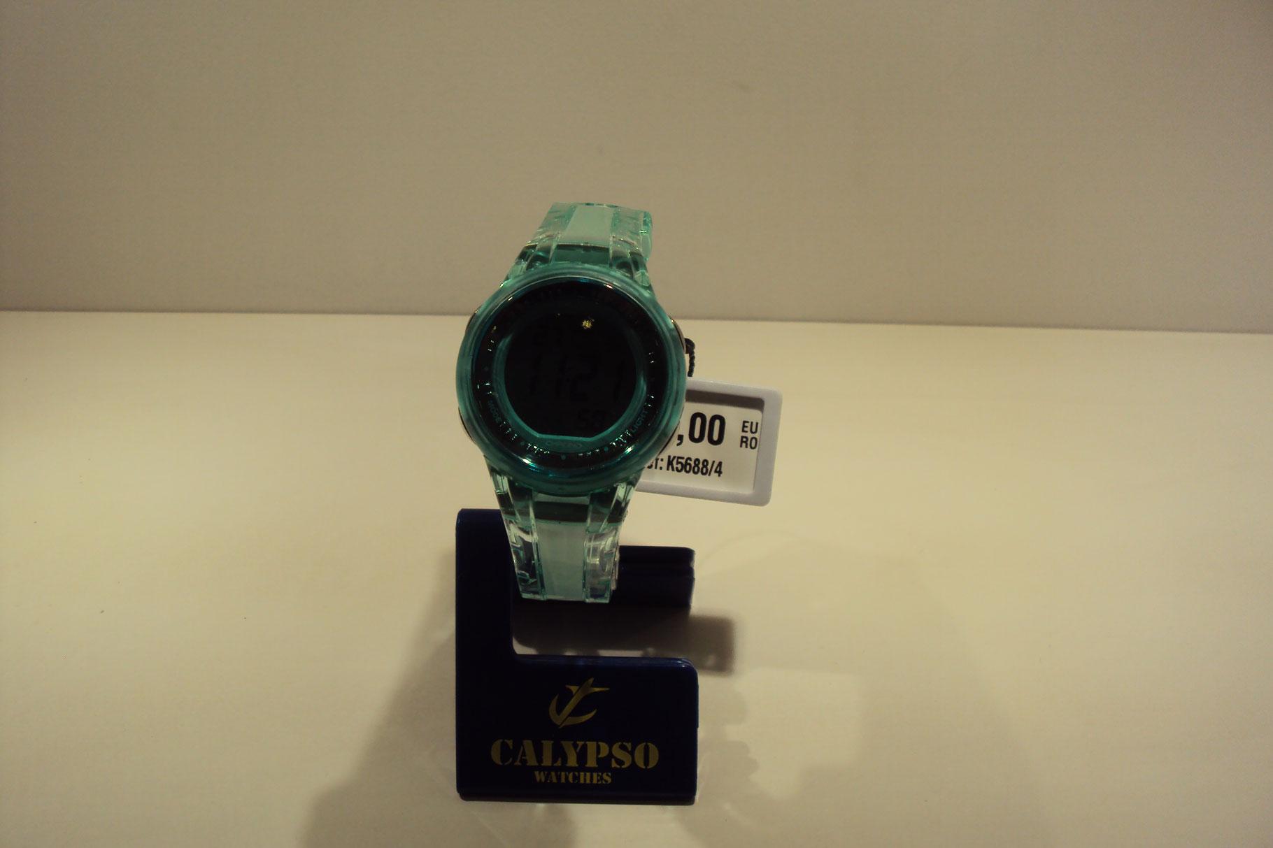 Reloj mujer correa verde digital.29€
