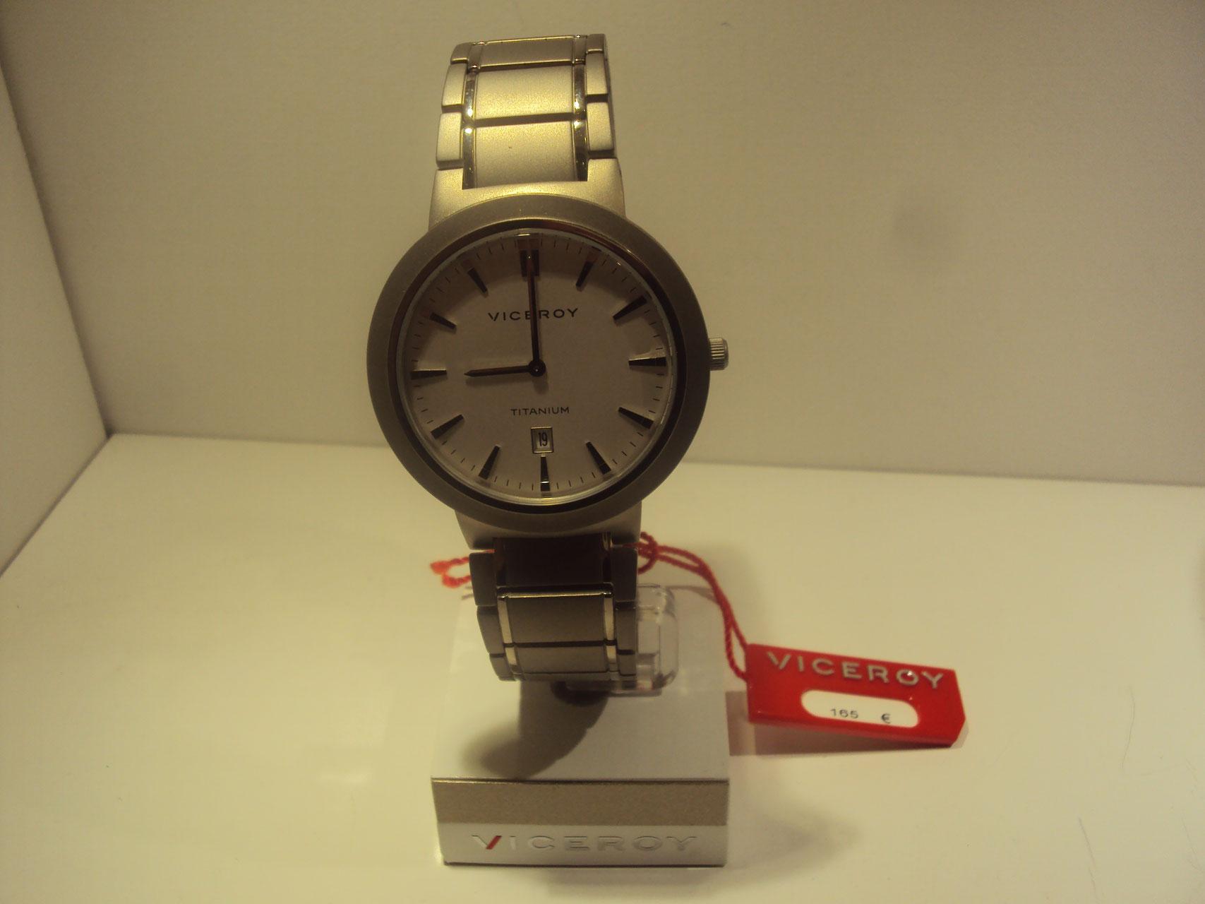 Reloj Viceroy de hombre de titanio.165€