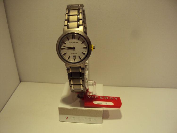 Reloj Viceroy de mujer de titanio.165