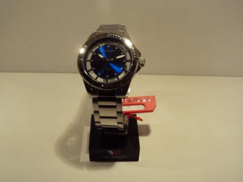 Reloj Viceroy de hombre esfera transparente y azul eléctrico.99€