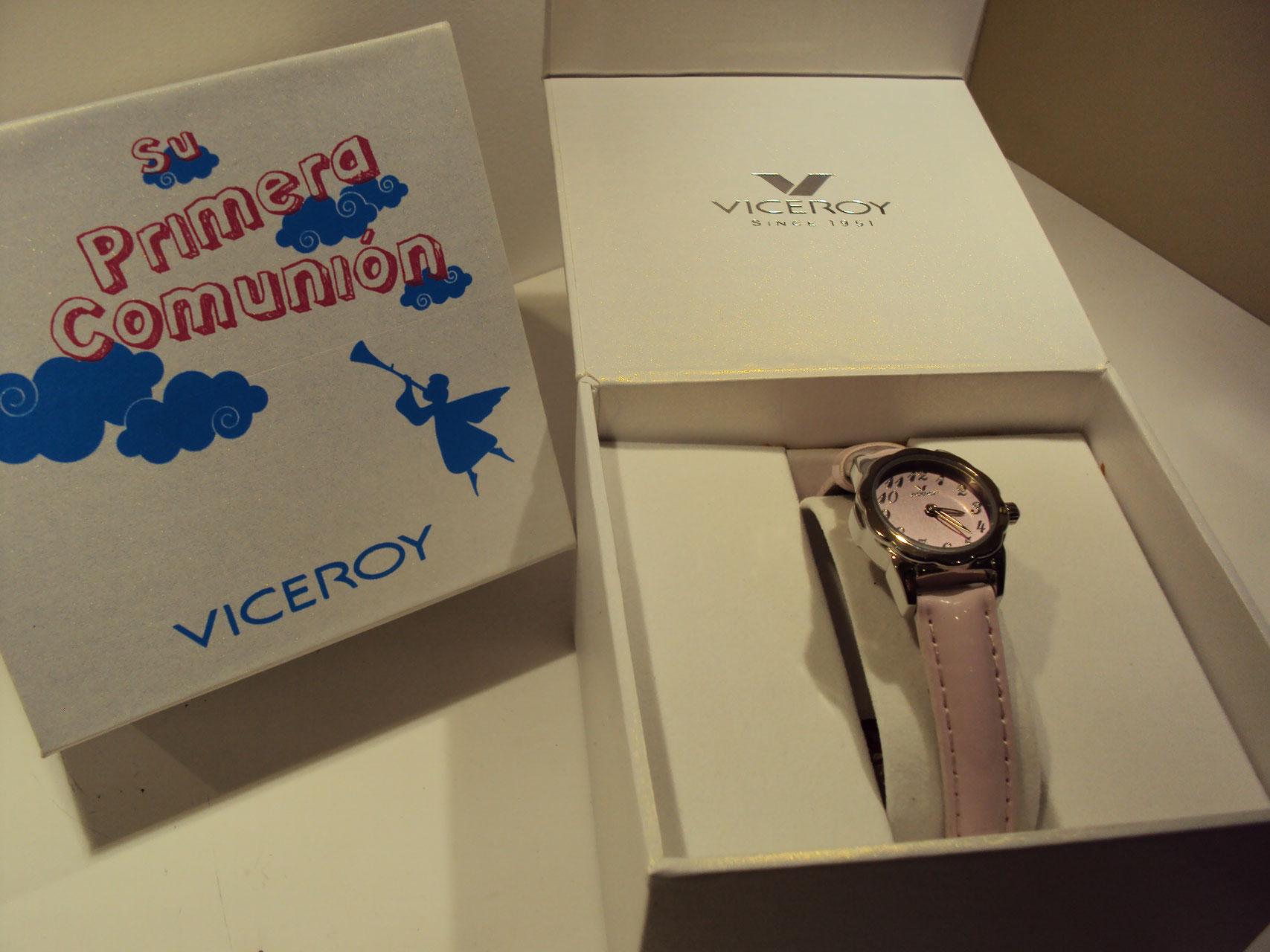 Reloj Viceroy redondo rosa.49€