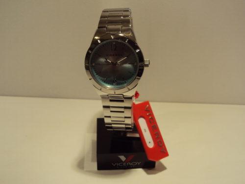 Reloj Viceroy de mujer esfera azul claro.69€