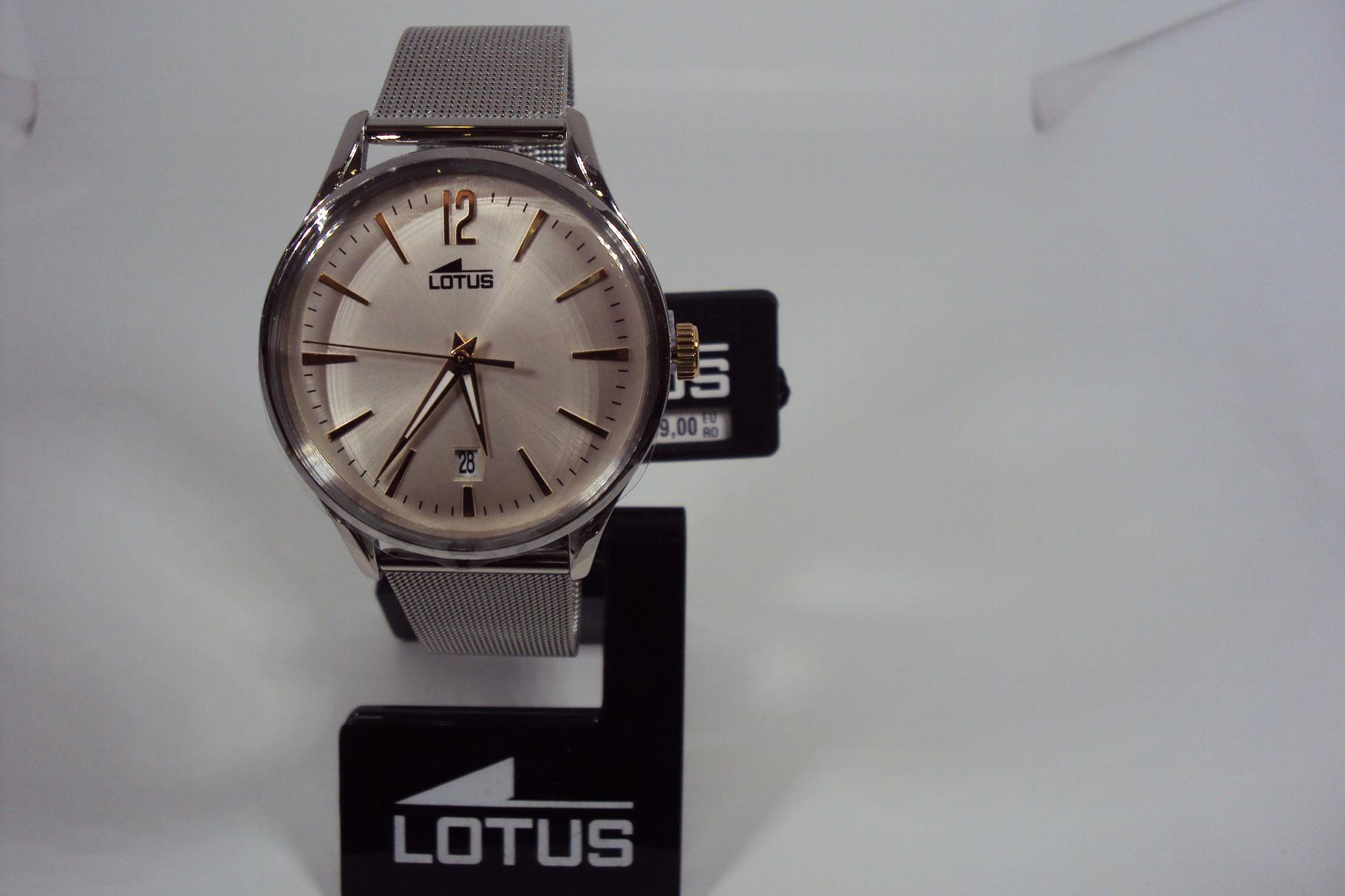 Reloj Lotus de Hombre malla de esterilla.119€