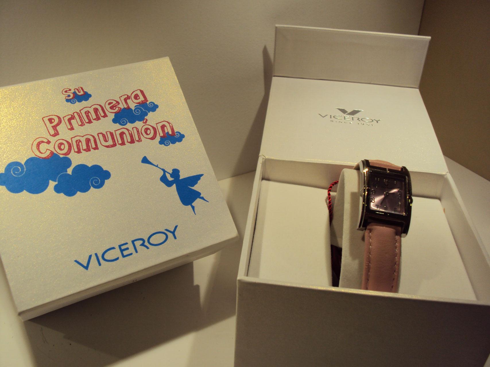 Reloj Viceroy cuadrado rosa.59€