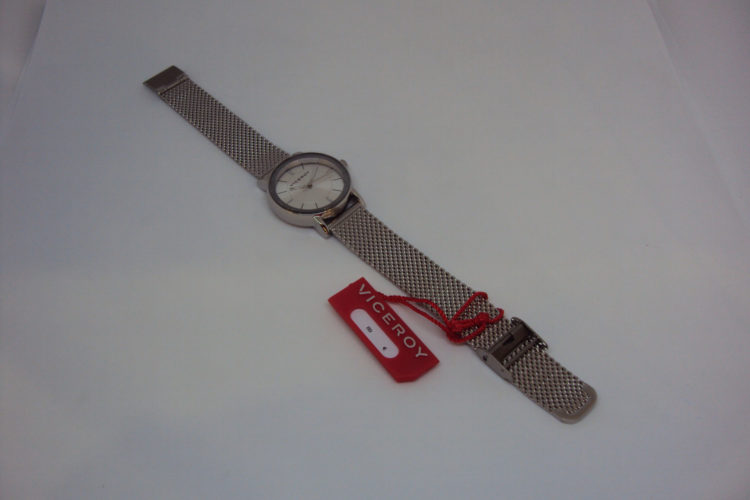 Reloj Viceroy de acero cadena de esterilla mujer.89€