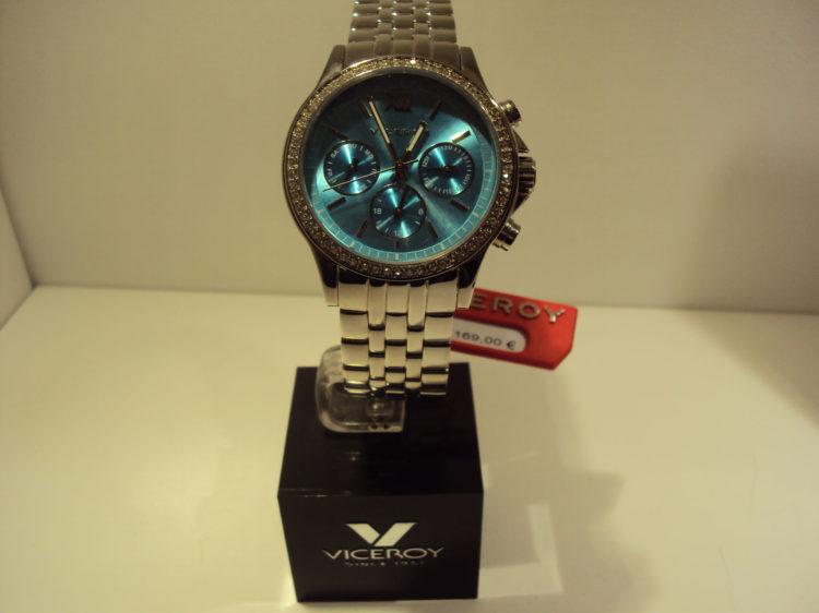 Reloj Viceroy de mujer fondo turquesa,multifunción.169€
